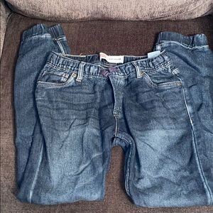 Jean joggers by Levi boys size L 12-13 years